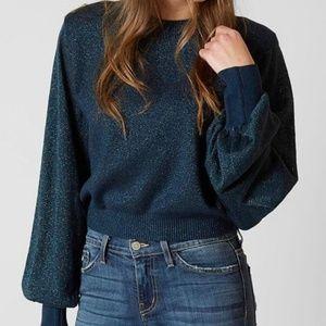 Free People Crop Sweater